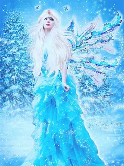 Fairy Winter Snow Animation Deviantart