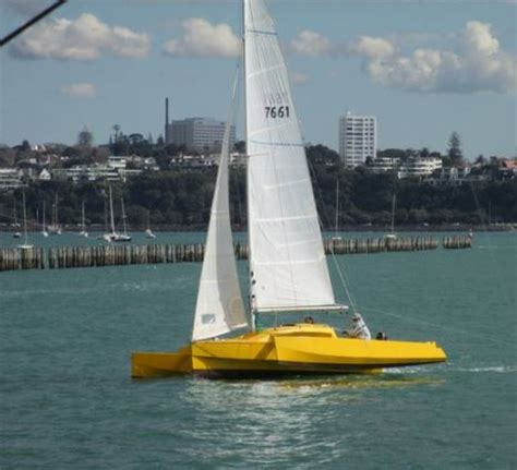 Trimaran Nz by Nicky 25 Trimaran Sailing In New Zealand Small