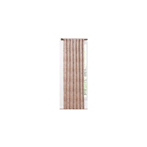 shop waverly home classics 84 in l pearl back tab curtain