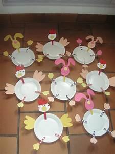Bricolage De Paques : bricolage poule de paques maternelle recherche google ~ Melissatoandfro.com Idées de Décoration