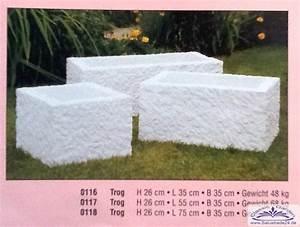 Pflanztröge Aus Beton : pflanztr ge sandsteintog massiv aus kunstbeton auch als ~ Sanjose-hotels-ca.com Haus und Dekorationen