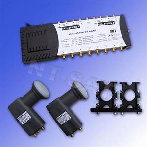 Quattro Lnb Multischalter : pmse multischalter 9 8 hq nt mit 2 diamond quattro lnb ~ Watch28wear.com Haus und Dekorationen