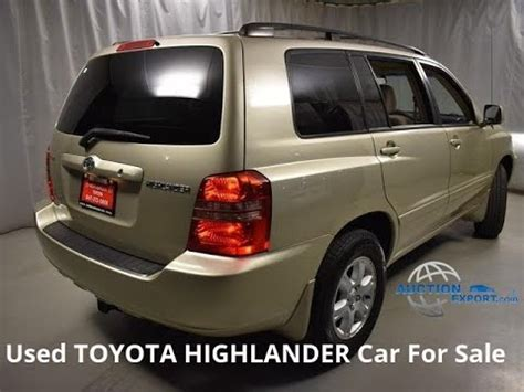 used toyota highlander for sale in usa shipping to cambodia youtube