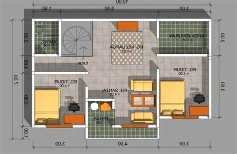 desain rumah minimalis  kamar beserta denahnya wild