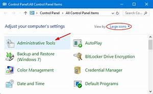 4 Ways To Launch Administrative Tools In Windows 10