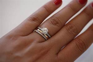 Wedding favors wedding ring and engagement ring for Wedding ring and engagement ring placement