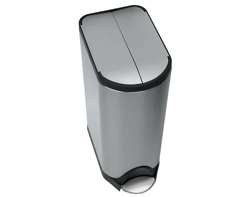 poubelle 224 p 233 dale deluxe butterfly 30 litres acier 30 litres simple human made in design