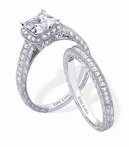dazzling platinum and diamond engagement ring and wedding With engagement ring and wedding band set