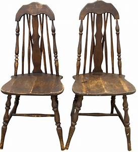 Antique Spindle Chair Antique Furniture