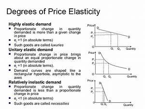 Essay Price Elasticity Of Demand