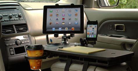 mobile desk for car could autonomous vehicles lead to the mobile office