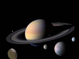 Planet Saturn Moons | Saturn and Moons | Science ...