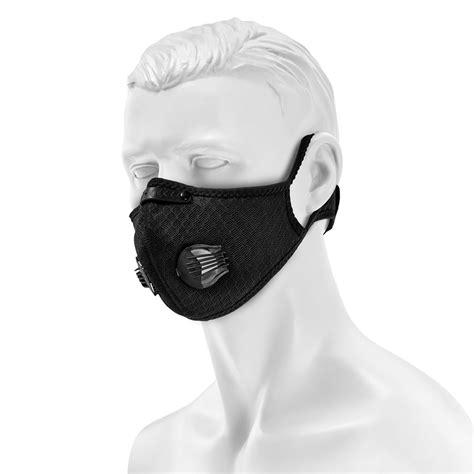 Maska antysmogowa Maraton ażurowa - Black (ART.910) | Sklep Militaria.pl