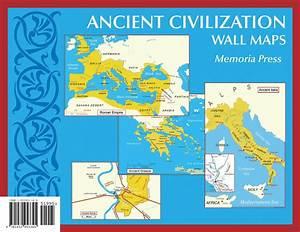 Ancient Civilization Small Wall Maps (11''x17'') | Memoria ...