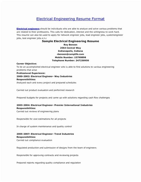 13 luxury resume format civil engineer resume sle