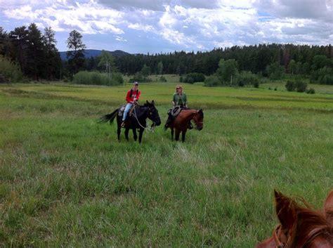 estes horseback park riding