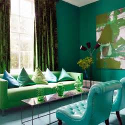 green livingroom blue and green living room housetohome co uk