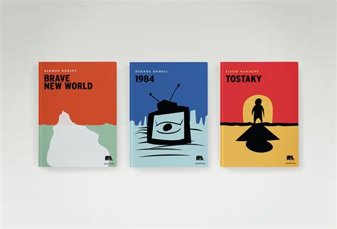 Minimalist Book Covers On Student Show