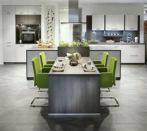 Ilots Central Cuisine : cuisine avec lot central d couvrez notre catalogue en ligne ~ Melissatoandfro.com Idées de Décoration