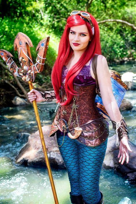 Steampunk Little Mermaid Cosplay En 2019 Deguisement