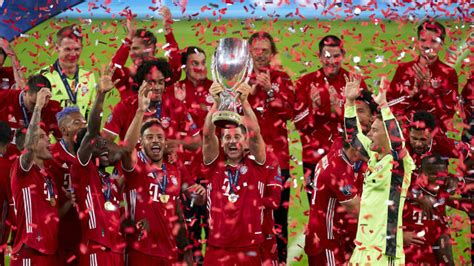 Bayern Munich's Super Cup Victory Sets Remarkable European ...