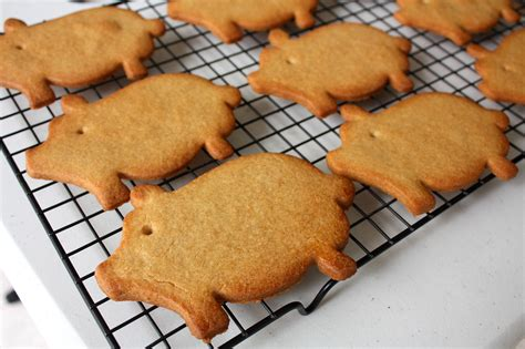 The snowball/mexican wedding cookie recipe my grandma always made for christmas. Mexican Christmas Pig Cookies / 21 Mexican Christmas Traditions Smart Fun Diy / Ginger cookies ...
