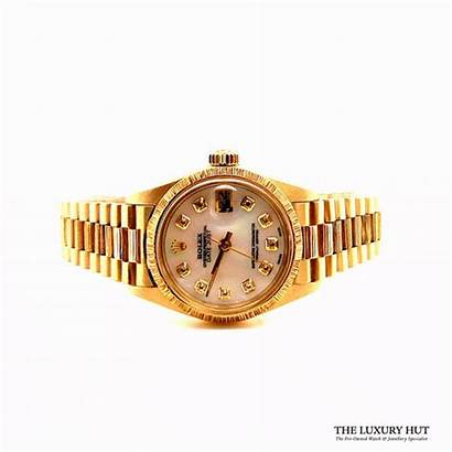 Rolex Ladies Gold Datejust Perpetual Oyster Gf