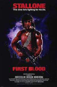 Rambo: First Blood movie posters at movie poster warehouse ...