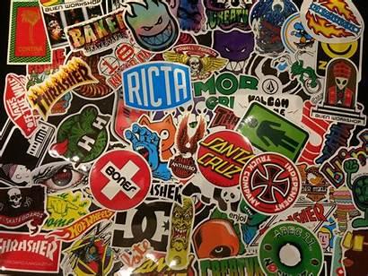 Stickers Marcas Skate Adhesivos Pack