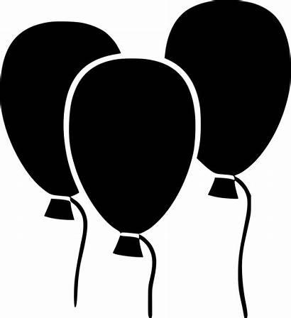Balloons Birthday Party Balloon Icon Clipart Svg