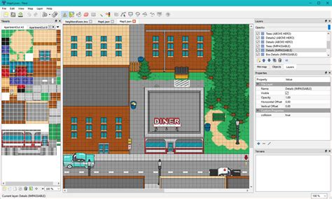 Tiled Map Editor Collision by Tiled Plugin Rpgmaker Net