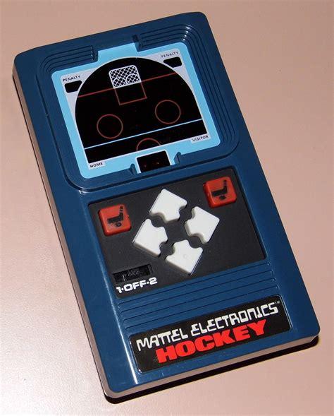vintage mattel electronics hockey handheld electronic game