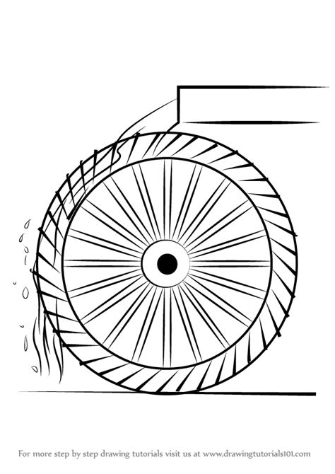 step  step   draw  water wheel  kids