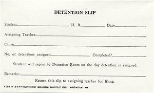 forms With detention slip template