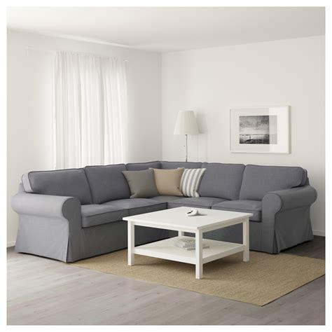 canape ektorp ikea ektorp corner sofa 4 seat nordvalla grey ikea