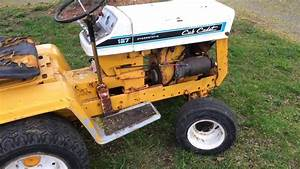 Its Running  Cub Cadet 127    2 Tractor  Restoration Progress And Update  2
