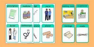 Doctor's Surgery Flash Cards - doctors, people who help us