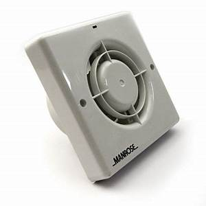 Manrose xf100h zone 3 bathroom extractor fan humidity for Do you need an extractor fan in a bathroom