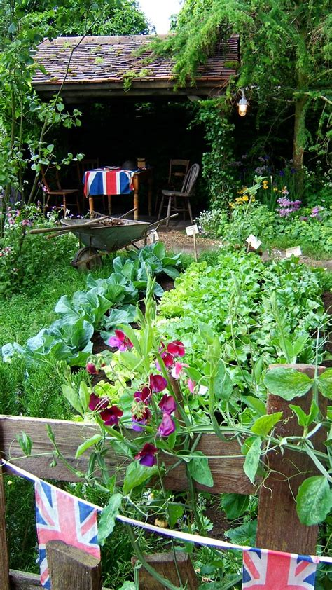 vegetable patch chelsea pensioners garden
