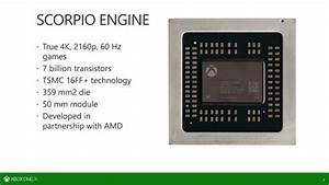 Full Details Of The Scorpio Engine In Xbox One X From