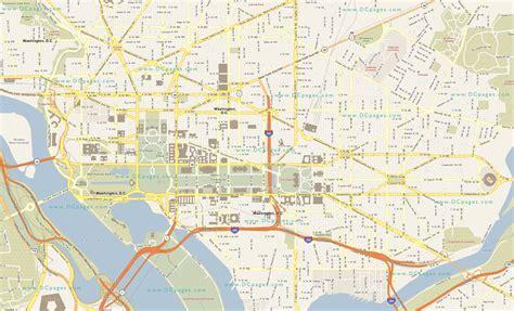 map  washington dc travelsmapscom