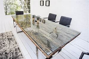 Esstisch Metallgestell Holzplatte : esstische riess ~ Markanthonyermac.com Haus und Dekorationen