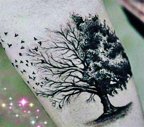 ideas  tatuajes de arboles disenos