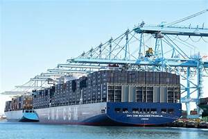 Giant Container Ships Arrive On US Shores, But Many Ports ...