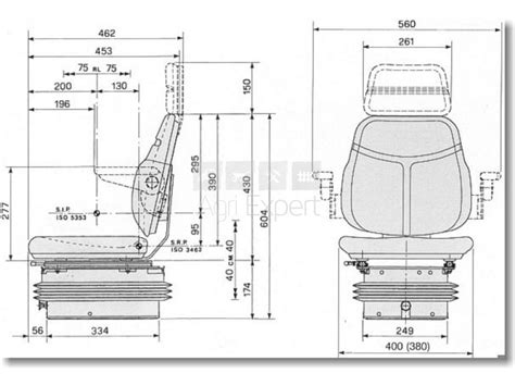 siege tracteur vigneron siège étroit suspension pneumatique 12v tracteur vigneron