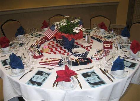 patriotic decoration ideas  white red  blue