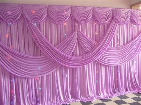 lavender silk wedding backdrops for wedding