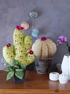 Porte Clé En Tissus A Faire Soi Meme : diy tuto cactus en tissu en bloque porte ou en d coration la petite boutique des gourmandises ~ Melissatoandfro.com Idées de Décoration