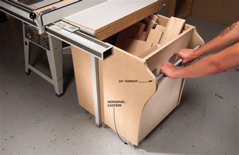 hidaway bin  short stock popular woodworking magazine