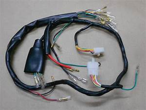 Honda Ct90 Wiring Harness New 1976 To 1979 Trail 90